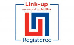 link-up enpowered by Achilles logo.