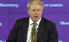 view of Boris Johnson.