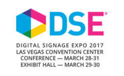 Digital signage expo 2017 advertisement.