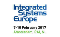Integrated systems europe 2017 advertisement.