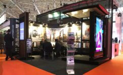 Trueform exhibition stand at Integrated Systems Europe.