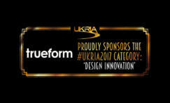 Trueform sponsoring UKRIA2017 advertisement.