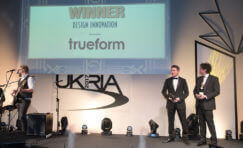 Trueform at UK Rail Industry Awards 2017.