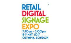 Retail Digital Signage Expo advertisement.