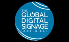 global digital signage conference logo.