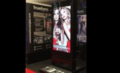 digital totem at retail digital signage expo.