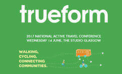 national active travel conference advertisement.