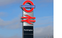 legible london interchange totem.