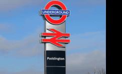 legible london interchange totem.