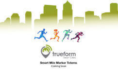 smart mile marker totems advertisement.