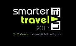 Smarter Travel Live 2017 advertisement.