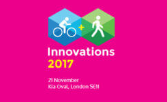 Cycling & Walking Innovations 2017 advertisement.
