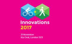 Cycling & Walking Innovations 2017 advertisement.