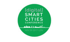 Digital Smart Cities Conference 2017 advertisement.