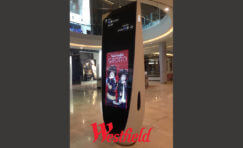 Westfield Retail Digital Ad Totem Sign