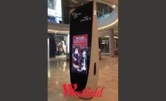 Westfield Retail Digital Ad Totem Sign