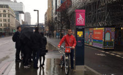 Digital Cycle Superhighway Totem