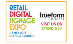 Retail Digital Signage Expo May 2018