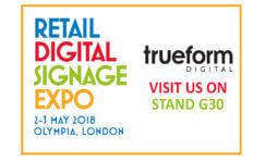 Retail Digital Signage Expo May 2018