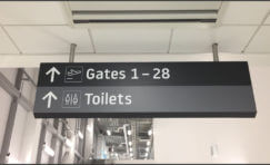 Luton Airport Signage