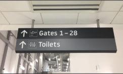Luton Airport Signage