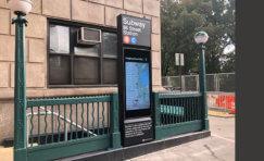 New York Subway Totem