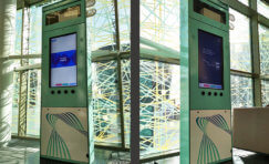 Smart Technology Totems for Newcastle University 2