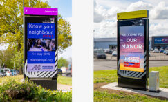 Crawley Manor Royal Business District Digital Advertising Displays