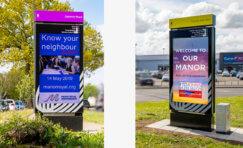 Crawley Manor Royal Business District Digital Advertising Displays