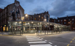 Partick Interchange Shelters